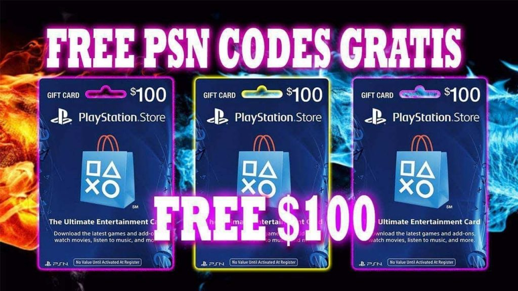 Get PSN codes for free