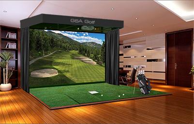 Golf Simulators Indoors