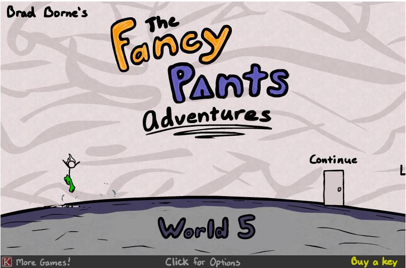 Fancy Pants 3 Adventure